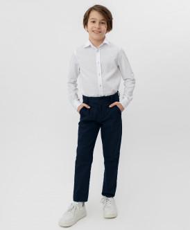 Купить 220BBBS63011000, Синие брюки-слим Button Blue, синий, 152, Мальчики
