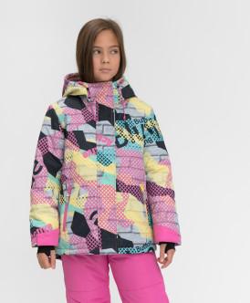 Купить 220BBGA41010025, Демисезонная куртка Active Button Blue, мультицвет, 152, Девочки
