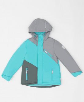 220BBGA41021800, Демисезонная куртка Active Button Blue, голубой, 152, Девочки  - купить со скидкой