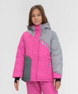 Купить 220BBGA41051200, Зимняя куртка Active Button Blue, розовый, 152, Девочки