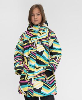 Купить 220BBGA45020010, Зимнее пальто Active Button Blue, мультицвет, 152, Девочки