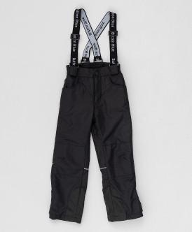 Купить 220BBGA64010800, Демисезонные брюки Active Button Blue, черный, 152, Девочки