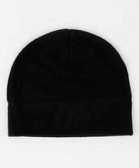 шапка button blue для девочки, черная