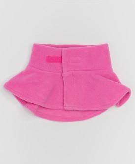 Розовый флисовый воротник Button Blue