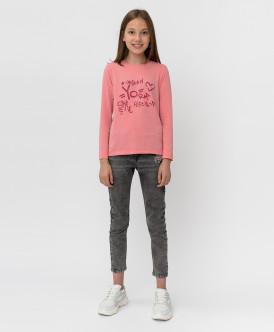 джинсы button blue для девочки, серые