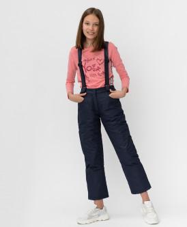 Купить 220BBGJC64031000, Темно-синие зимние брюки Button Blue, синий, 152, Девочки