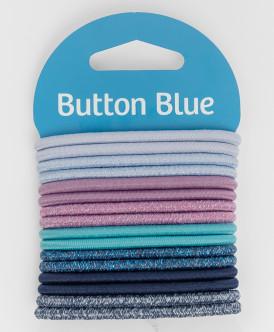 Набор резинок для волос Button Blue