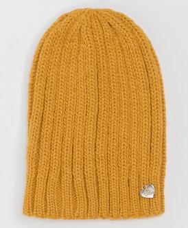 шапка button blue для девочки, желтая
