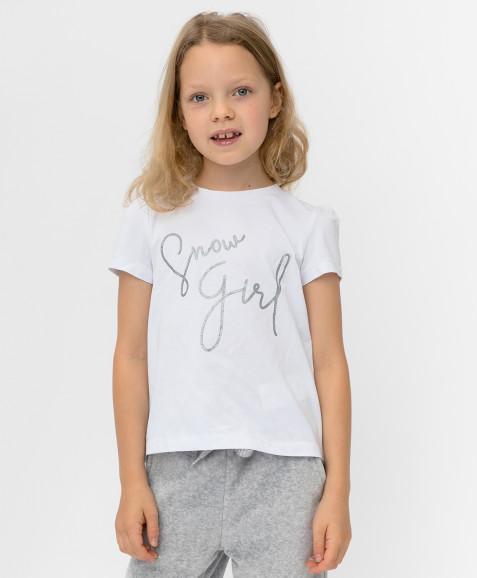 Белая футболка с сеткой