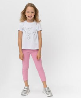 Розовые брюки Button Blue