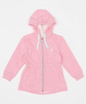 толстовка button blue для девочки, розовая