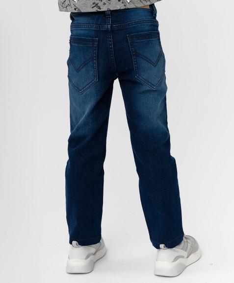 Темно-синие джинсы Button Blue