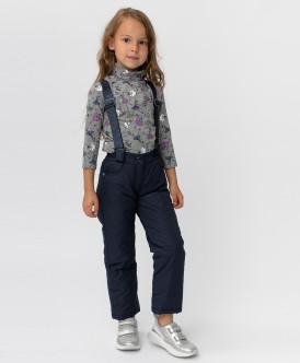 Зимние синие брюки