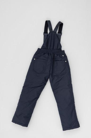 Зимние синие брюки Button Blue