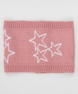 воротник button blue для девочки, розовый