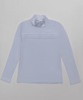 водолазка button blue для девочки, белая
