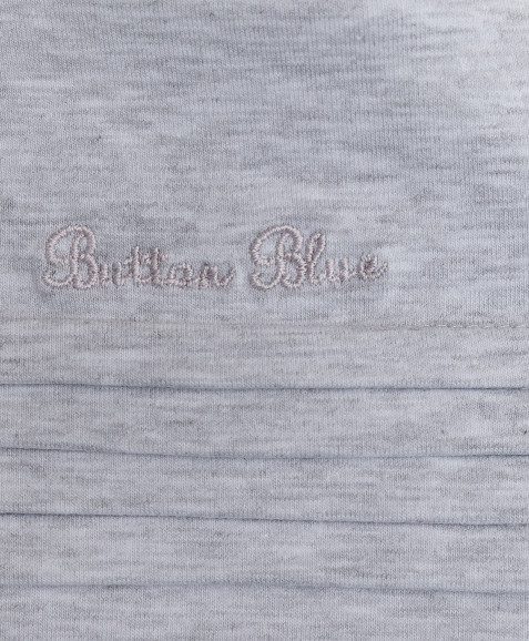 Серая водолазка с вышивкой Button Blue