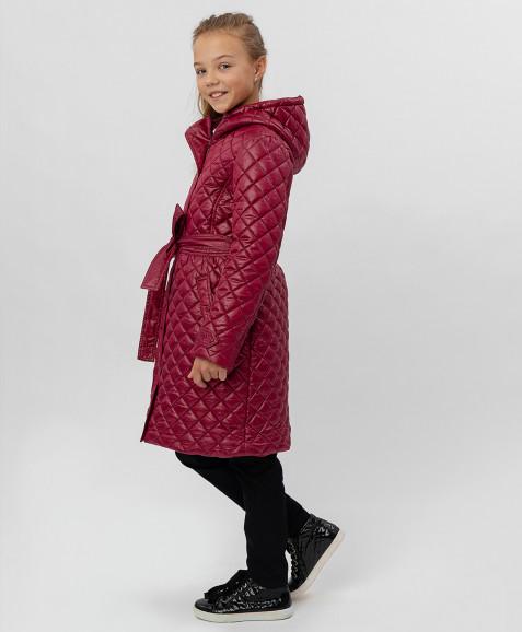 Красное пальто Button Blue