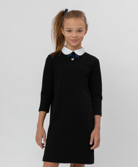 платье button blue для девочки, черное