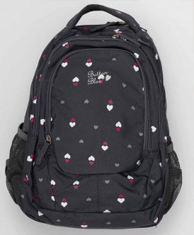 Черный рюкзак для девочки 220BBGX21030815 фото