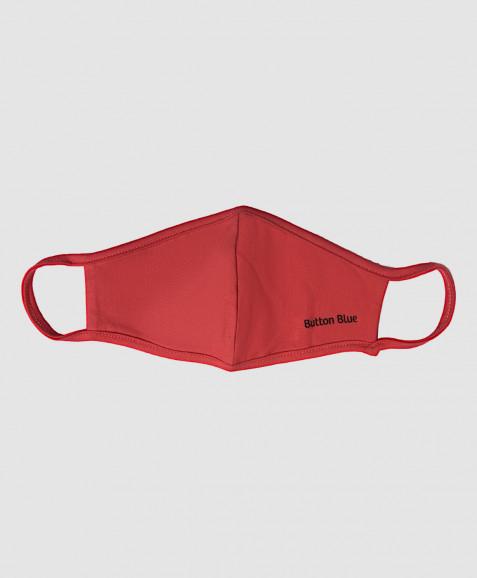 Розовая многоразовая защитная маска Button Blue